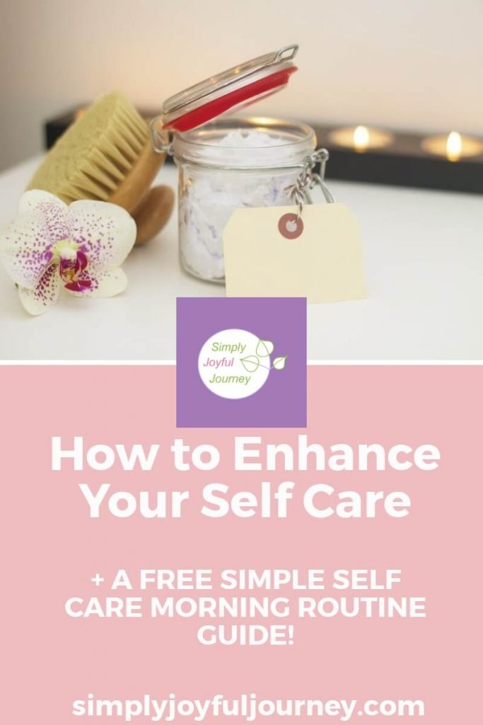 Self Care Routine create time for self care routine