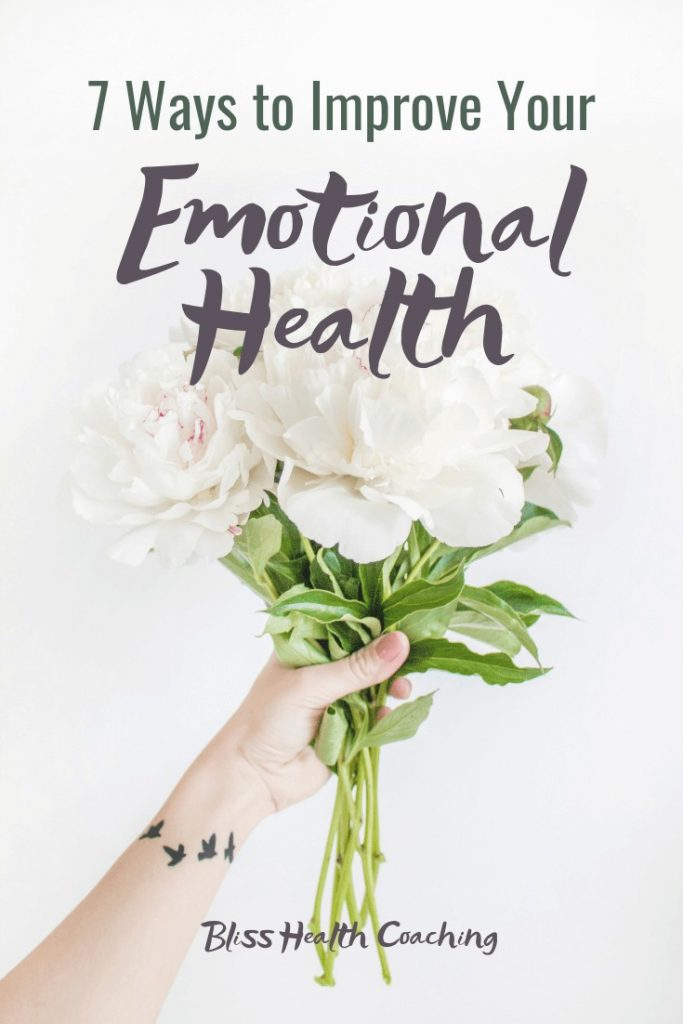 emotional health mental health balance intentional living mindfulness