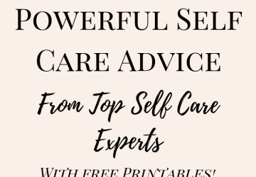 Mental health self care personal life coach