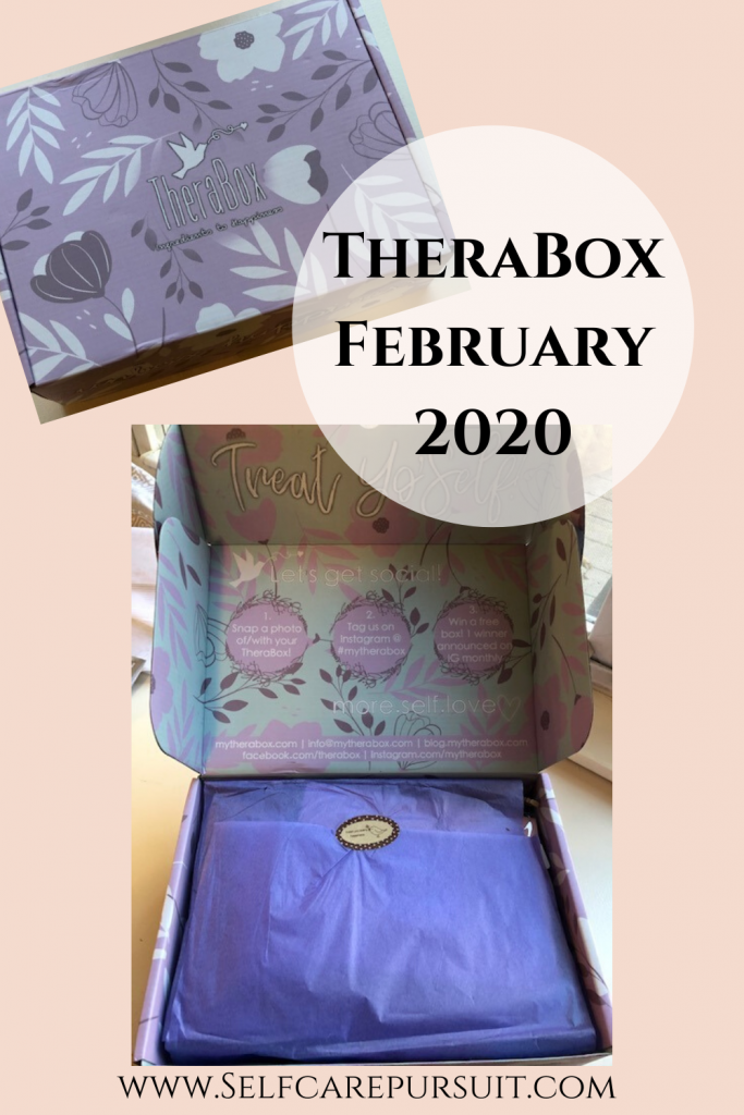 Therabox Unboxing Self Care Pursuit